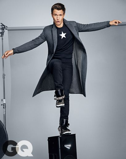 Ansel Elgort, Man of The Year? More like Man of Forever. @gqmagazine   Insurgent