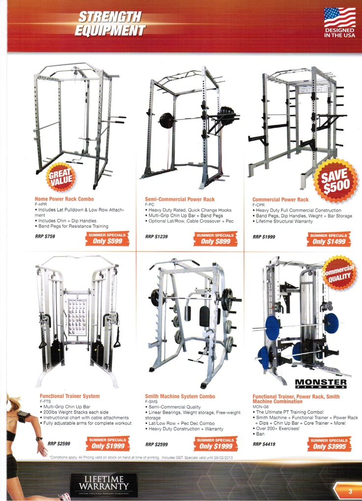 Force USA Power Cage, Monster G6, Cross Fit Training Cages