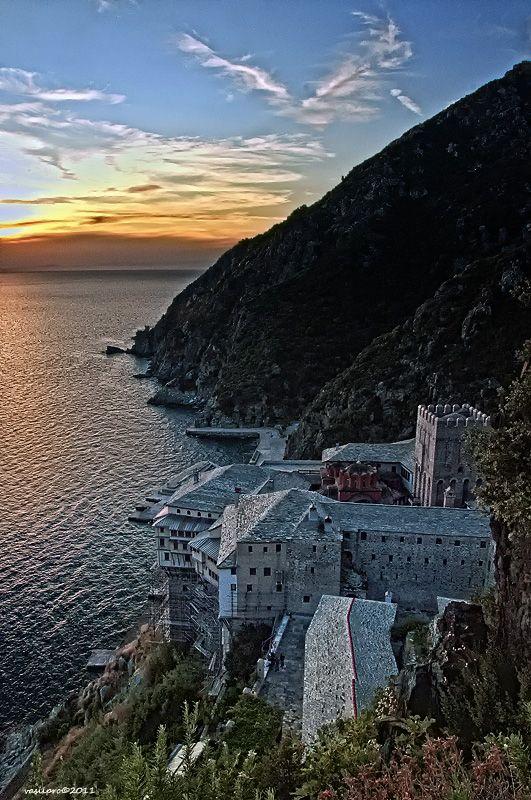 Ι.Μ. Διονυσίου, Άγ. Όρος - Dionysiou Monastery, Mount Athos, Greece