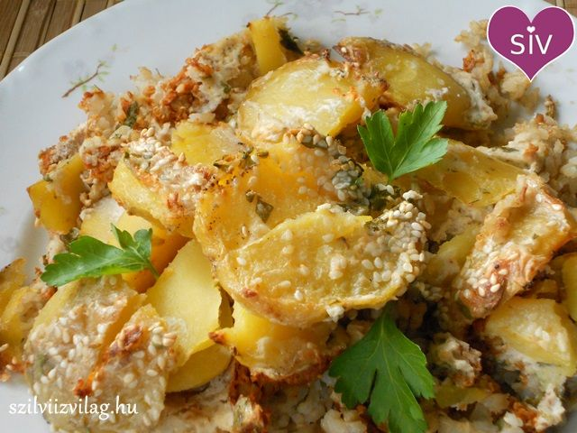 Rakott burgonya - Mennyei finom vegán rakott krumpli! - Szilvi ÍzVilág