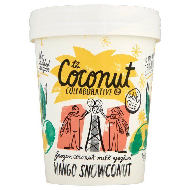 Coconut Collaborative Mango Snowcoconut Frozen Yoghurt