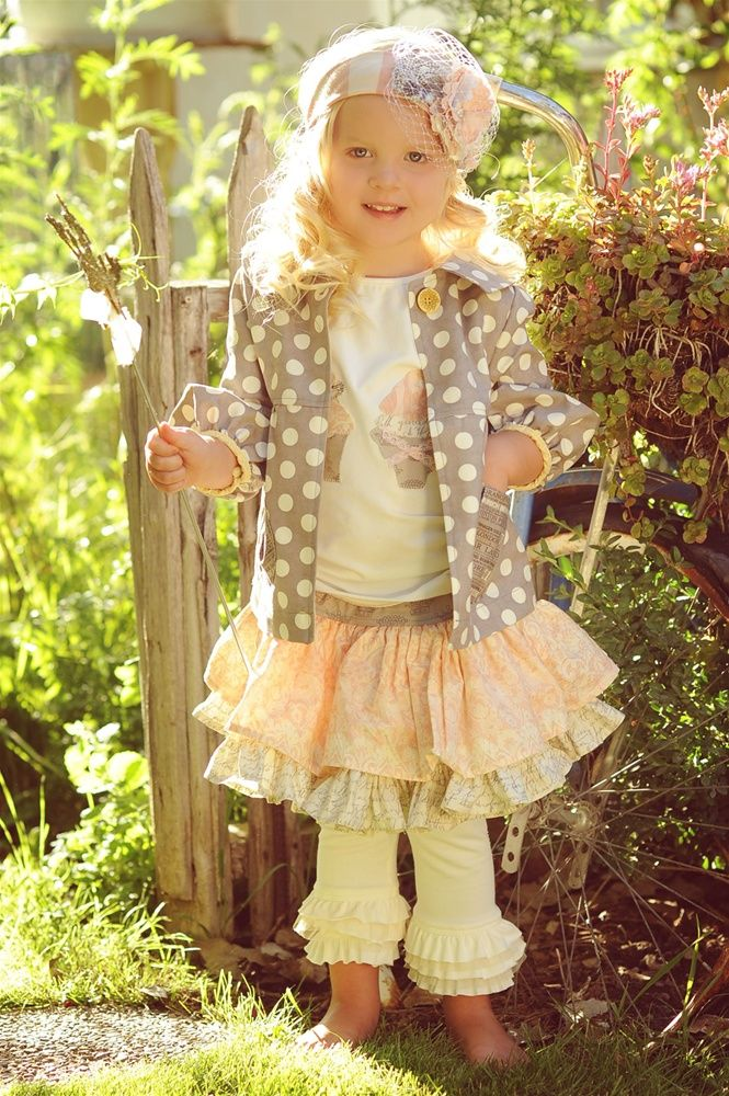 adorable layering: Little Girls, Adorable Outfits, Skirts, Persnickety Clothing, Cute Outfits, Jackets, Cute Clothing, Ruffles, Kid