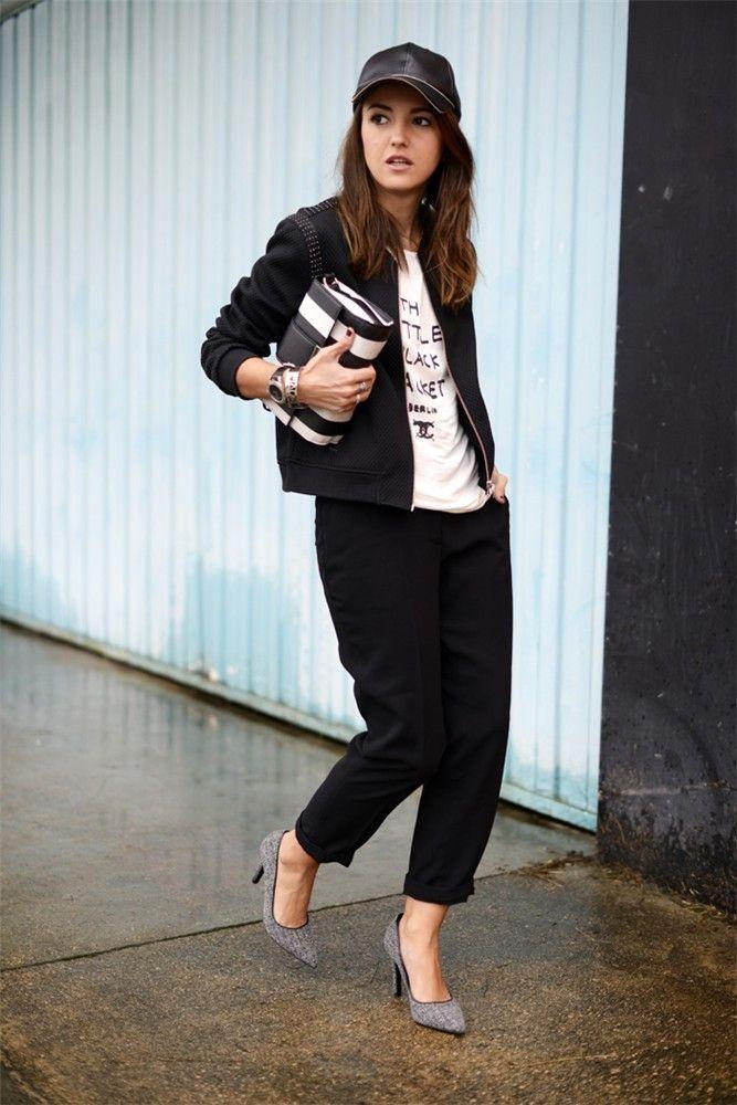 Alexandra Pereira, Lovely Pepa, con zapatos de salón de la colección que ha diseñado para Krack