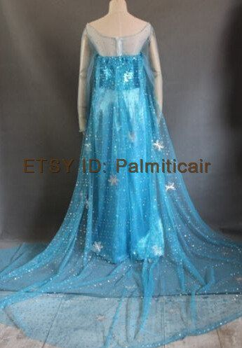 Disney Frozen Elsa Costume Elsa Coronation Cosplay by palmiticair