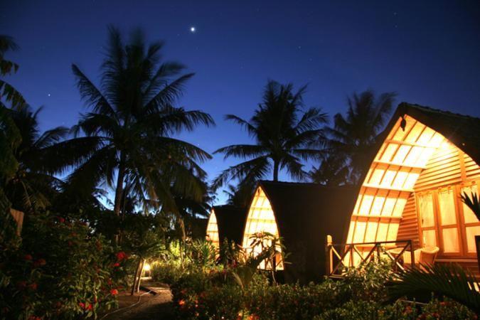 Bungalow accommodation at Manta Dive on Gili Trawangan - Manta Dive