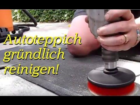 Autoteppich putzen & reinigen - Tipps für Fahrzeugreinigung / Autoreinigung innen / Autopflege - YouTube