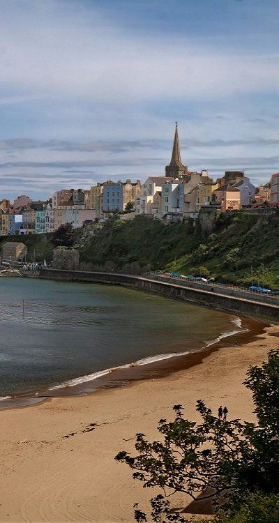 Tenby, Wales, UK I have family that live here. My sister and I are planning to visit them for the very first time in September, it looks such a beautiful place :)
