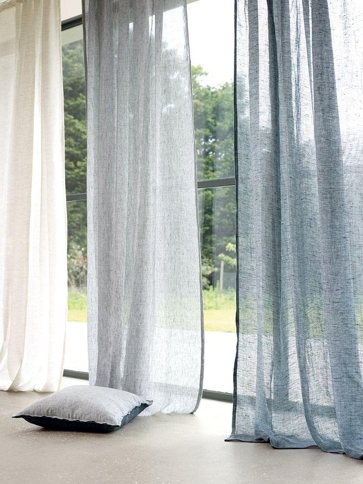 Voilage Messina Birch, Cep, Harbourg - Villa Nova - Marie Claire Maison
