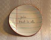 Little refill paper ceramic dish