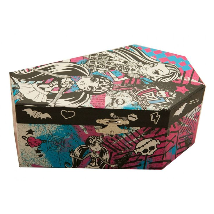 Monster High Music Jewellery Box from Funstra Toys
