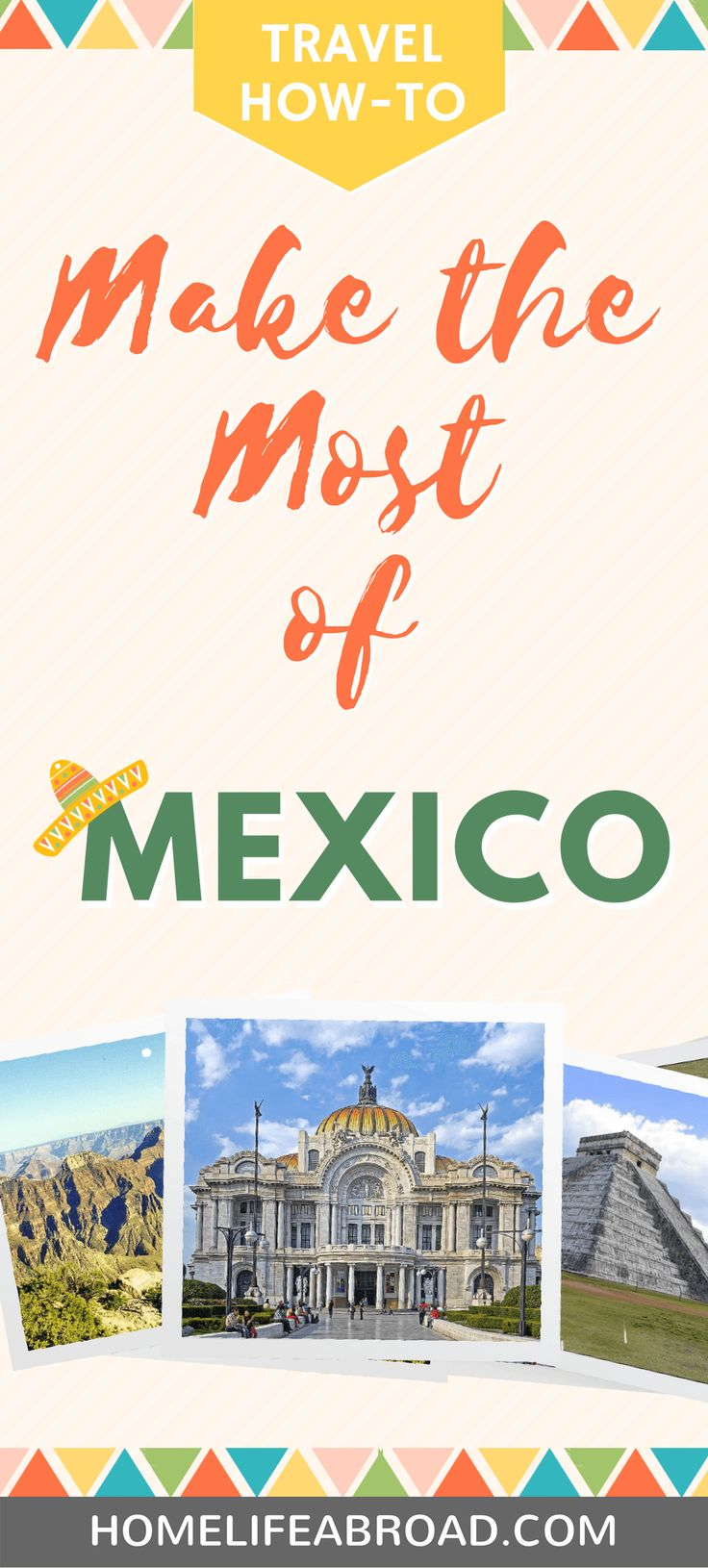 Mexico is so much more than a Spring Break in Cancun. If you're planning to travel there, check out 4 ways to make the most of your trip! #mexico #travel #tourism #vacation