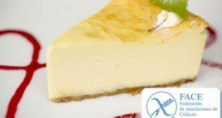 Tarta de queso para celíacos (sin gluten)