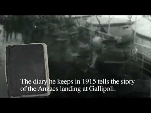 My Gallopli. Book Week 2016. This would really help kids to visually put themselves there with the diary being told. Ensure you view first to decide on appropriateness for your own class. Diary of a Gallipoli soldier - YouTube