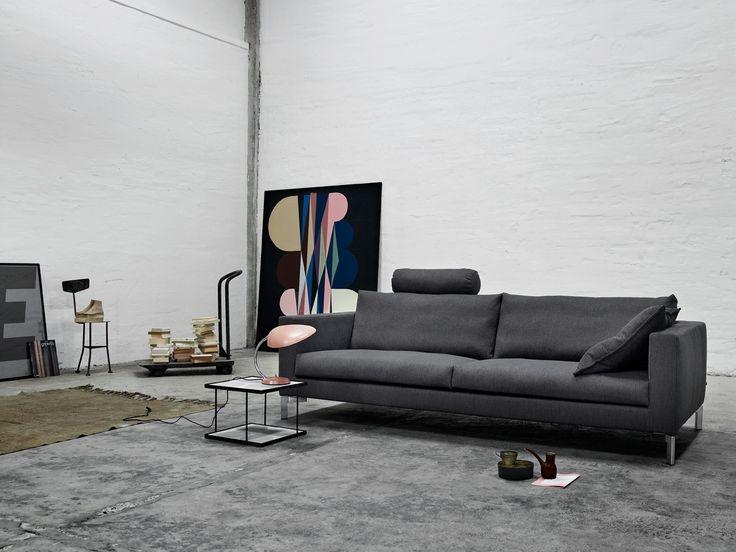 Zenith Sofa by Eilersen, Denmark. #furniture #modernfurniture #livingroom #sofa #fabricsofa