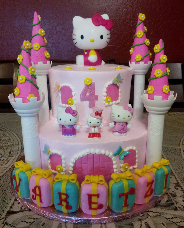 85 best Hello Kitty images on Pinterest Hello kitty cake