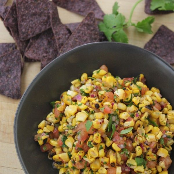 fire roasted corn and tomato salsa baby apps roasted corn sunday ...