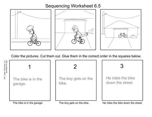 Bike in Garage Worksheet