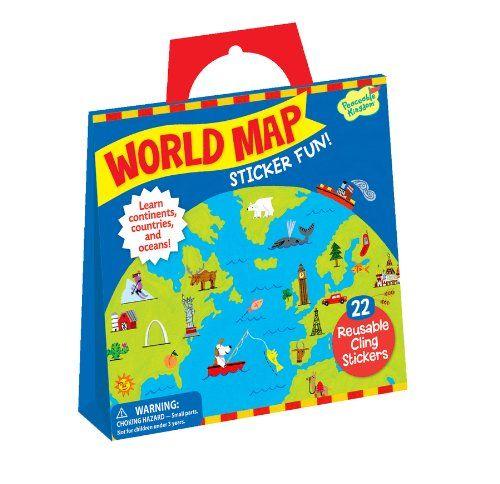 Peaceable Kingdom / Sticker Fun! World Map Reusable Sticker Tote Peaceable Kingdom http://www.amazon.com/dp/B007BUF06G/ref=cm_sw_r_pi_dp_hSYiub0K6P7MP