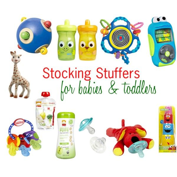 Stocking Stuffers for Babies & Toddlers by worleyhouse, via Polyvore