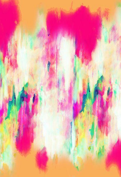 FREE SHIPPING WORLDWIDE TILL SUNDAY Electric Haze Art Print by Amy Sia