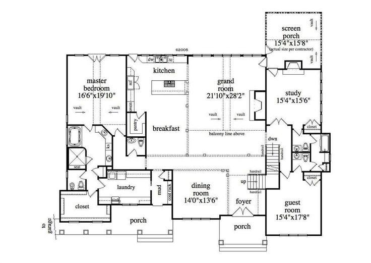 17 best bungalow house plans images on pinterest