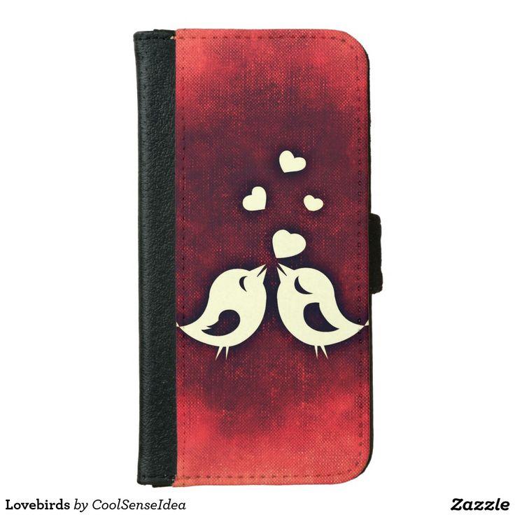 Lovebirds iPhone 6/6s Wallet Case
