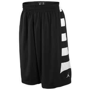 Jordan Team Game Short - Men's - Basketball - Clothing - Black/White