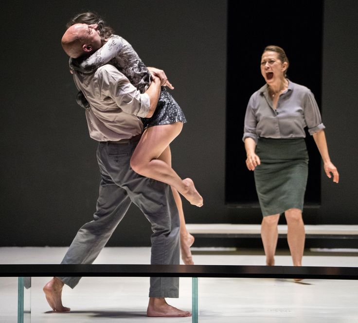 """A scene from Ivo van Hove's Broadway production of """"A View From the Bridge."""" His staging of Mozart's """"Don Giovanni,"""" a co-production with the Metropolitan Opera, will have its premiere at the Paris Opera next season.. http://trendfem.com/2018/02/january-25th-5th-february-2018-opera-news-from-met-operas-hd-live-event-paris-opera-marin-alsop-the-london-handel-festival-and-more/"""