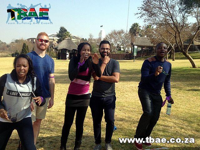 Team Building fun #SAB #TeamBuilding