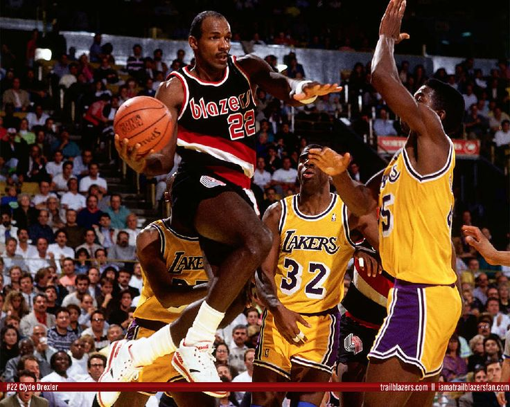 clyde drexler vs magic johnson - Google Search