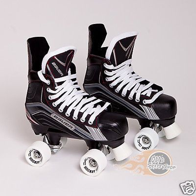 Bauer #vapor x200 quad #roller skate, playmaker conversion, belair #hockey wheels,  View more on the LINK: 	http://www.zeppy.io/product/gb/2/151717193625/