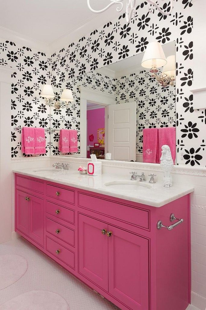 http://www.drissimm.com/wp-content/uploads/2015/04/Black-floral-pattern-on-white-wall-color-in-girly-bathroom.jpg