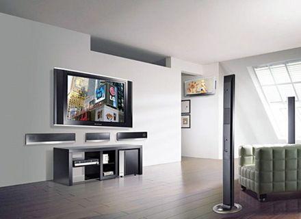 Muebles de gypsum para tv buscar con google gypsum - Paredes decoradas modernas ...