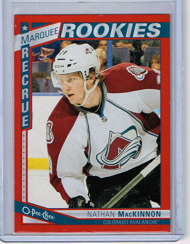 granlund rookie card | Nathan MacKinnon RED Parallel OPC Rookie