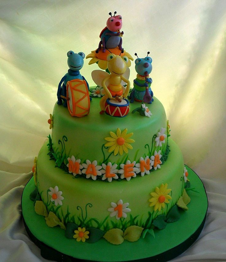 Insect Birthday Cake Ideas