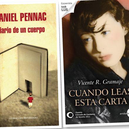 Libros. Diario de un cuerpo, Daniel Pennac 2012/ Cuando leas esta carta, Vicente Gramaje 2012 http://www.inkomoda.com/ramon-freixa-un-chef-de-sensaciones-y-sentimientos/