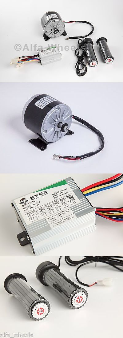 Parts and Accessories 11332: 350 W 24 V Dc Scooter Electric Motor 1016 Kit With Speed Controller And Throttle -> BUY IT NOW ONLY: $58 on eBay!