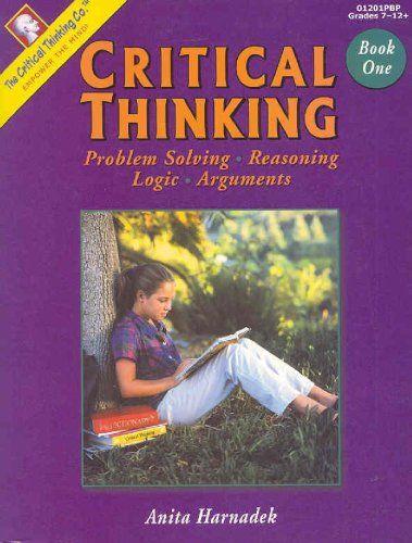critical thinking argument and argumentation pdf