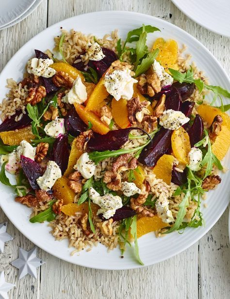 Beetroot, orange and quinoa salad