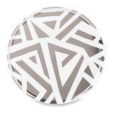 Deco Deco Serving Plate with Silver Foil by Citta Design | Citta Design