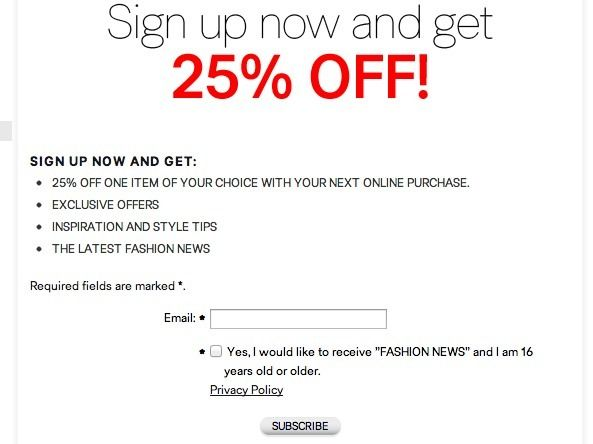 29 Best Great Sign Up Form Examples To Learn From Images On