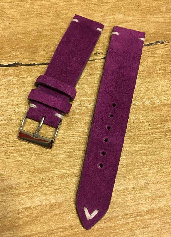 I sell vintage Handmade Leather Strap 20 mm Rolex Tudor Omega