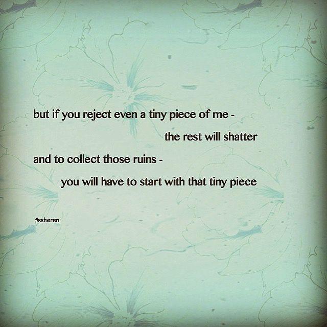 Tiny piece of me...
