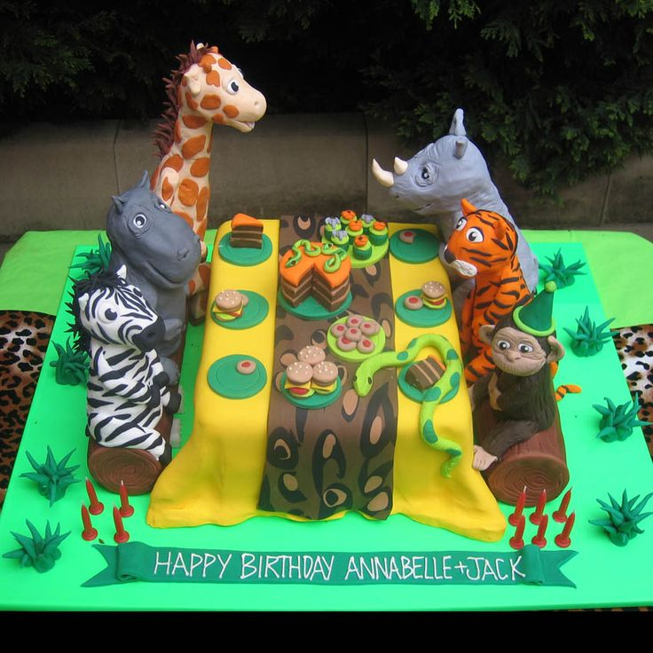 Jungle Book Cake Decorations : 108 best images about Jungle Picnic Party on Pinterest