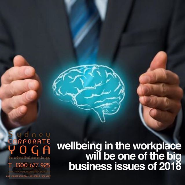 Wellbeing in the workplace will be one of the big business issues of 2018 http://bit.ly/2mRUFx0 #corporate #workplace