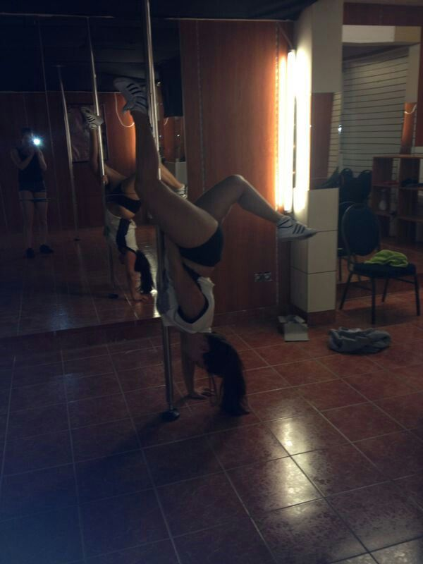 Passion for pole fitness