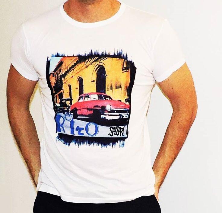 Polera diseño Retro Car, vintage, exclusivo en Sassari !! primavera-spring <3