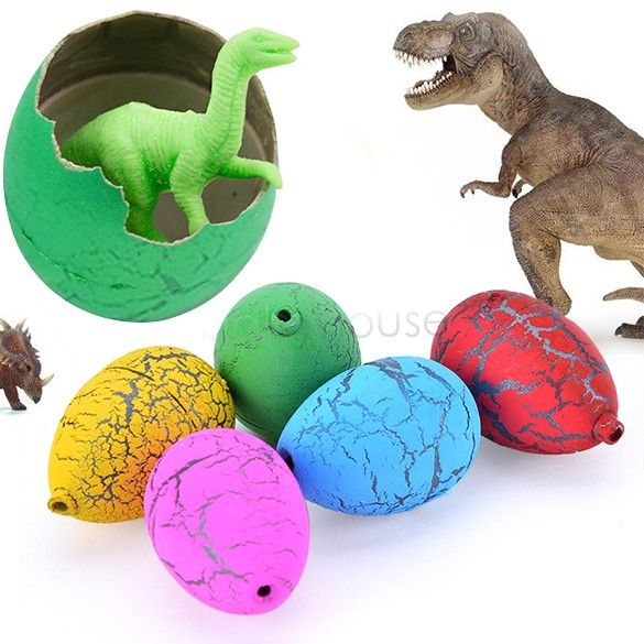2017 new arrival PCS Riverstones Water Magic Growing Dino Egg Hatching Growing Dinosaur Eggs Cute Children Kids Toy For boys 67