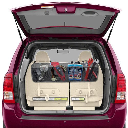 15 Best In Car Organizers To Avoid Clutter And Chaos. Lebogner Seat Back Car  Organizer