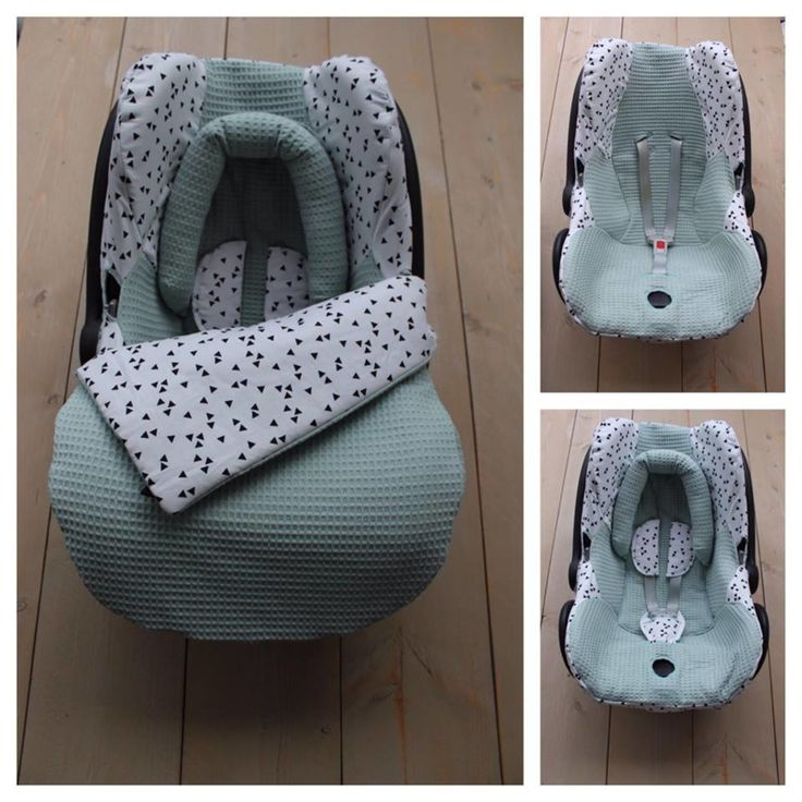 Maxi Cosi set Oud Groen / Triangel – Cabrio Fix